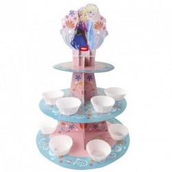 Suporte Cupcakes Frozen 32,7cm
