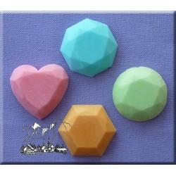 Molde Pedras Preciosas