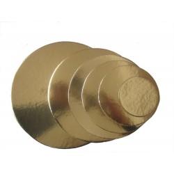 Disco Fino Dourado - Varios Tamanhos