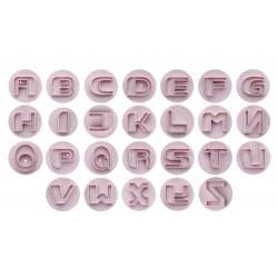 Cortantes Alfabeto com Ejector 4cm