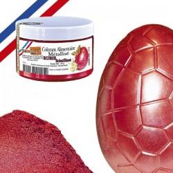 Corante Alimentar Metalizado Ruby Brilhante 25g