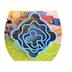 Cortantes Plástico Cj.4