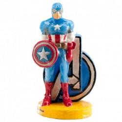 Vela Capitão América 8,5cm