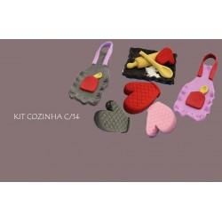 Kit Cozinha de Açúcar - Dia da Mãe Cx.14