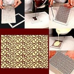 Molde Plastico para Chocolate Corações