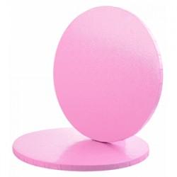 Base para Bolo Rosa 30x1,2 cm
