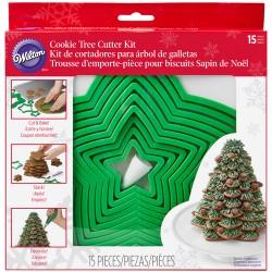 Cortadores p/ Árvore Natal em Bolachas Cx.15