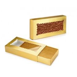 Caixa Dourada com Visor Cj.2