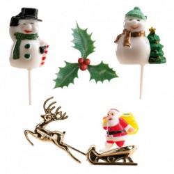Kit Decorações de Natal Cj.6