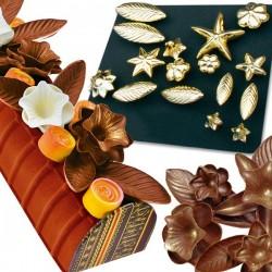 Moldes de Metal para Chocolate e Açucar