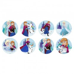 Hostias Frozen 3,5cm - Cj.18