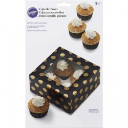 Caixas para Cupcakes Cj.3 Wilton