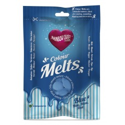 Colour Melts (Chocolate Pastilha) Azul 250g