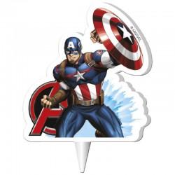 Vela Capitão America 7cm