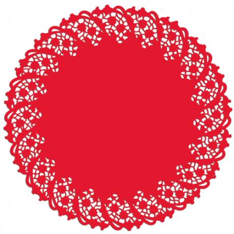 Naperons Vermelhos 30cm