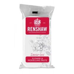 Pasta de Modelagem/Flores Branco 250g Renshaw