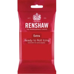 Pasta de Açucar Vermelho Renshaw 250g