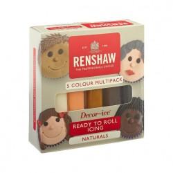Pasta de Açucar Naturals Renshaw 5x100g