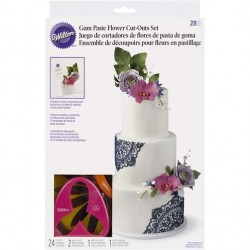 Conjunto de Cortantes para Flores CJ.28 pcs