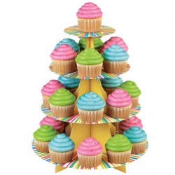Expositor Cartão para Cupcakes Wilton