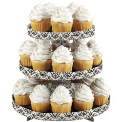 Expositor Cupcakes Damask Wilton