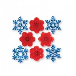 Cortantes / Marcadores Flocos de Neve
