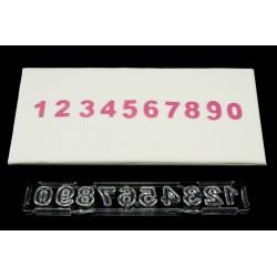 Cortante Ejector Numeros Block Clikstix