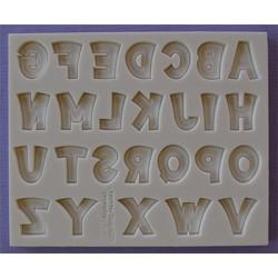 Molde Silicone Letras ( Party Font )