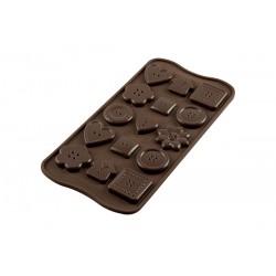 Molde Silicone Bombons Chocolate