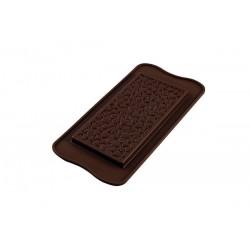 Molde Silicone Tablete Corações Chocolate
