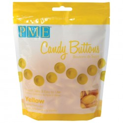 Candy Buttons Amarelo (Chocolate Pastilha) 340g