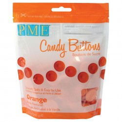 Candy Buttons Laranja (Chocolate Pastilha) 340g