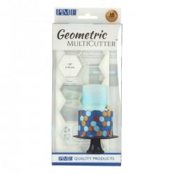 Cortante Plastico Geometrico Hexagono Gr PME