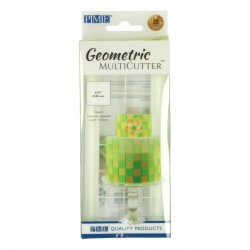 Cortante Plástico Geometrico Quadrado Pq PME