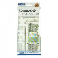 Cortante Plástico Geometrico Puzzle Cj.3 PME