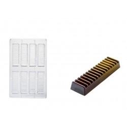 Molde Policarbonato Mini Tablete Chocolate