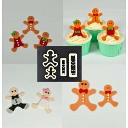 Cortantes Gingerbread / Pessoas Cj.4
