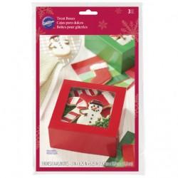 Caixas para Doces Natal Cj.3