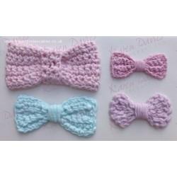 Molde Silicone Laço Crochet