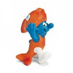 Smurf Peixes 5cm