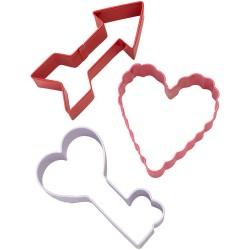 Cortantes Seta Coração e Chave
