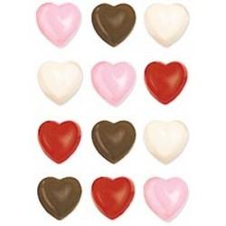 Molde Bombons Corações