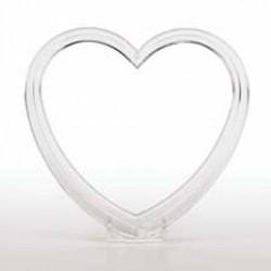 Aro Coração Cristal Pq Wilton