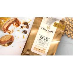 Chocolate Pastilha Gold Caramelo Callebaut 2,5kg