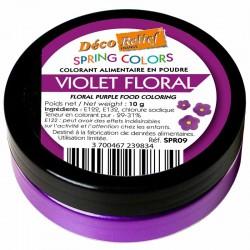 Corante Alimentar em Pó hidrossolúvel Violeta 10g