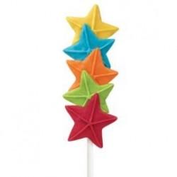 Molde Silicone Estrelas Pops
