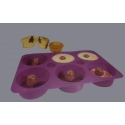 Molde Silicone Cupcakes Recheados