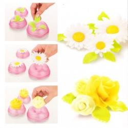 Formas de modelagem de flores
