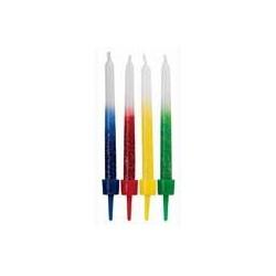 Velas Shimmer Rainbow