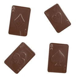 Molde P/ Chocolate Cartas